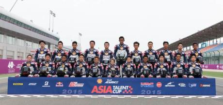 rider Sheel Advance Asia Talent Cup