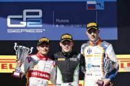 Rio Haryanto Kibarkan Merah Putih di GP2 Rusia 2015 pertamax7.com