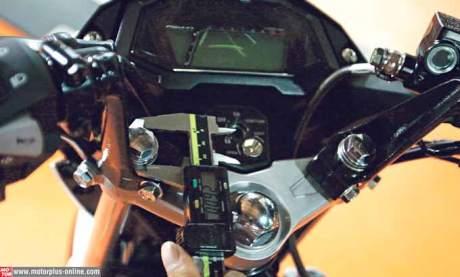 stang jepit honda sonic 150 bisa pakai variasi suzuki satria F pertamax7.com