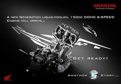 Teaser New Honda Sonic 150R siap dijual di Luar Negeri