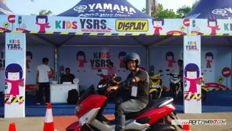 Test ride singkat Yamaha Nmax di YCR 5 Pati , Jian bikin kepincut 01 Pertamax7.com