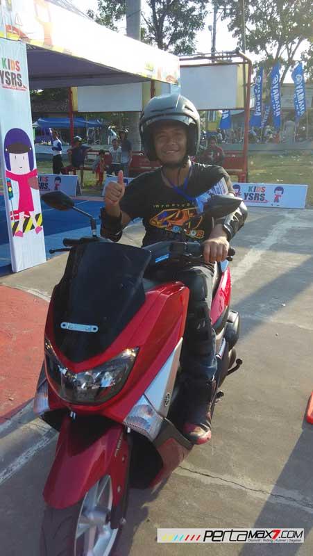 Test ride singkat Yamaha Nmax di YCR 5 Pati , Jian bikin kepincut 02 Pertamax7.com