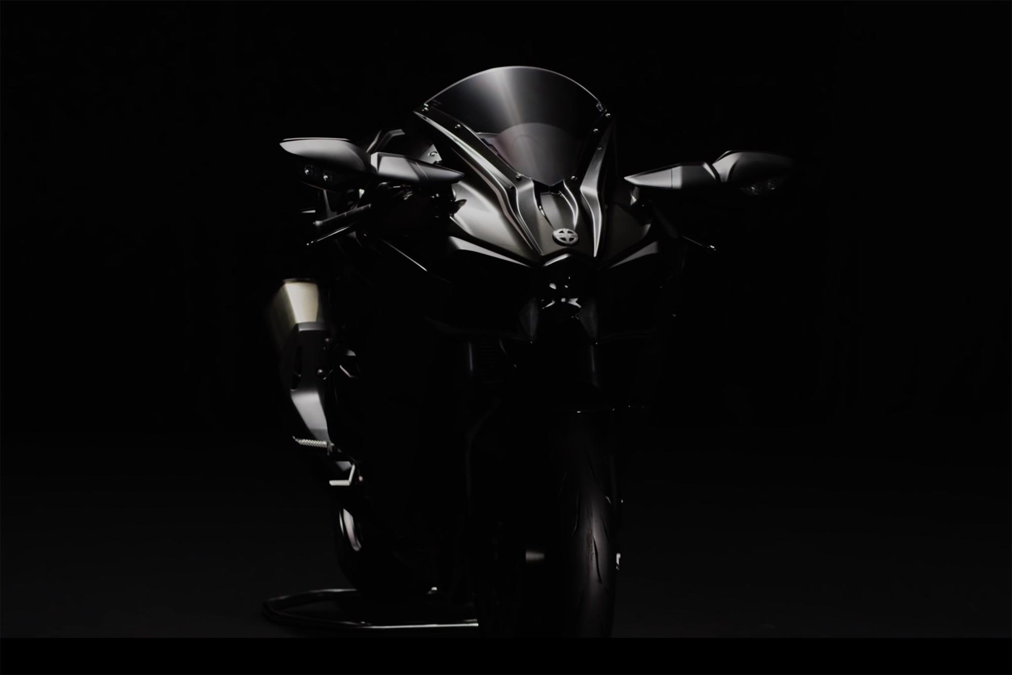Warna Baru Kawasaki Ninja H2 Hitam Doff 2016 ini makin sadis 12 Pertamax7.com