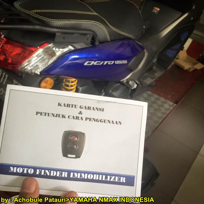 Moto Finder Immobilizer Yamaha