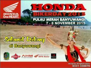 Yang Bener Nih Honda Bikers Day 2015 di Bayuwangi 7-8 November 2015 pertamax7.com