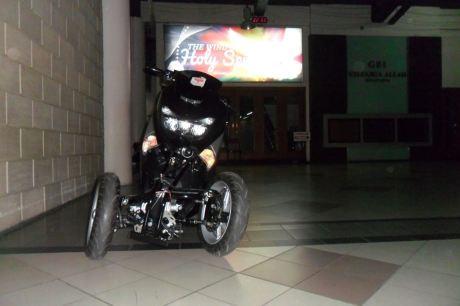 AKhirnya Modifikasi Yamaha NMAX 155 Roda tiga Reverse Trike Karya R.Win Solo jadi Juga, Cadas 01 Pertamax7.com