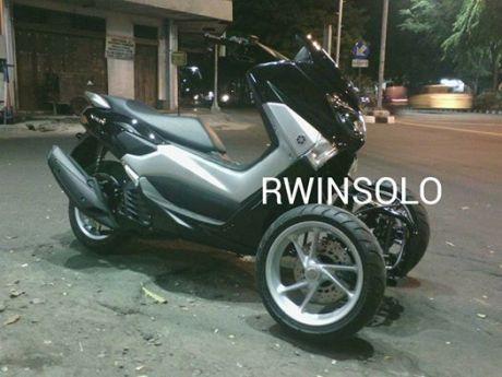 AKhirnya Modifikasi Yamaha NMAX 155 Roda tiga Reverse Trike Karya R.Win Solo jadi Juga, Cadas 03 Pertamax7.com