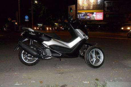 AKhirnya Modifikasi Yamaha NMAX 155 Roda tiga Reverse Trike Karya R.Win Solo jadi Juga, Cadas 04 Pertamax7.com