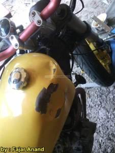 Akibat Pasang Limbah Moge di Motor Kecil Mocil tanpa perhitungan, Mulai Keras nggak nyaman sampai jumpalitan 04 pertamax7.com