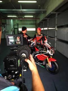 Aksi Pertama Nicky Hayden geber Honda CBR1000RR di WSBK 01 Pertamax7.com