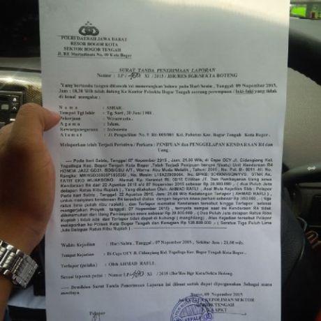 Cabut Berkas Laporan harus Bayar ke Oknum Polisi, Akhirnya Beres Berkat Social Media pertamax7.com