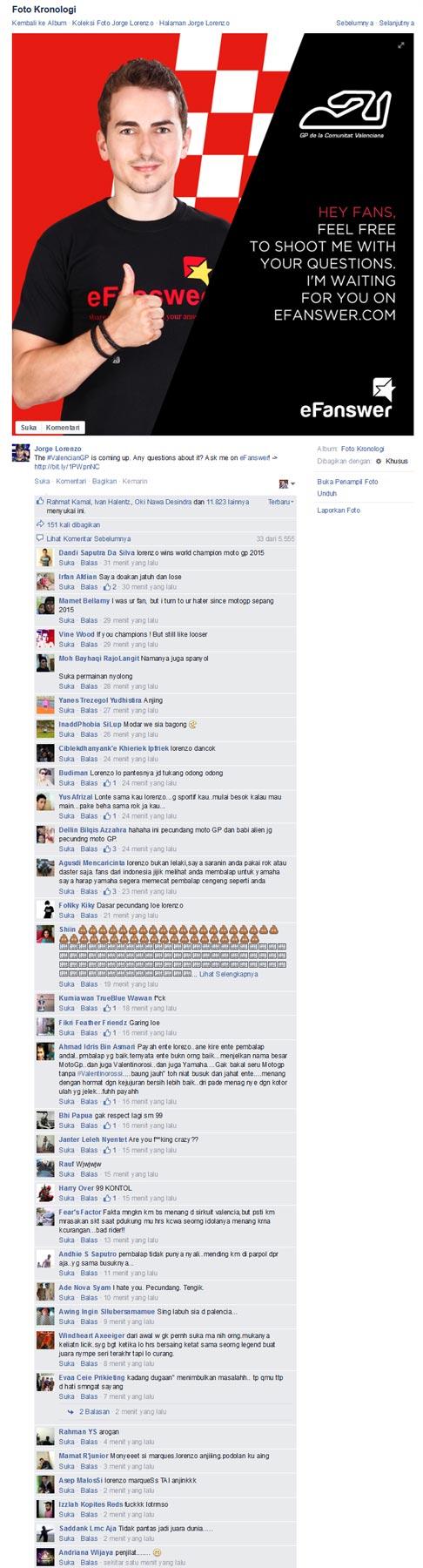 Cari-dukungan,-Fans-Page-Lorenzo-Di-Bully-Habis-habisan-oleh-Haters pertamax7.com