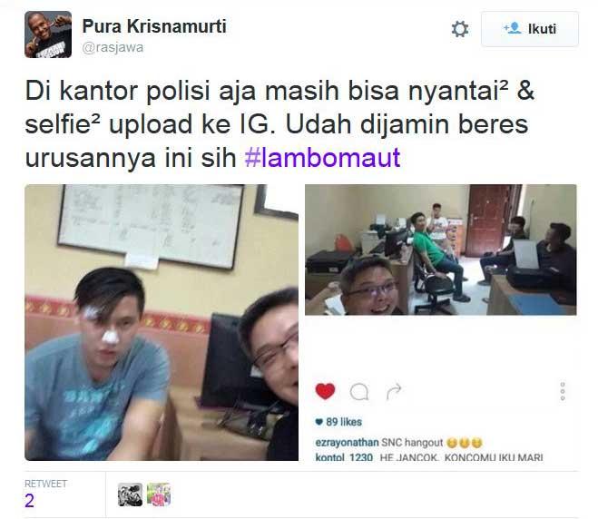 Diperiksa-Polisi,-Pengendara-Lamborghini-Maut-di-Surabaya-bisa-Selfie-pertamax7.com-