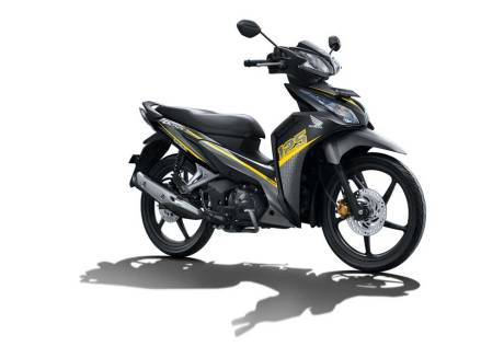 facelift new honda blade 125 Sporty Yellow pertamax7.com 2016