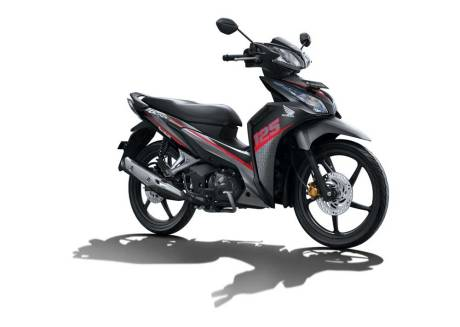 facelift new honda blade 125 Winning Red pertamax7.com 2016