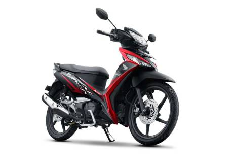 facelift new honda supra X 125 FI Sporty Aggressive Energetic Black CW pertamax7.com 2016