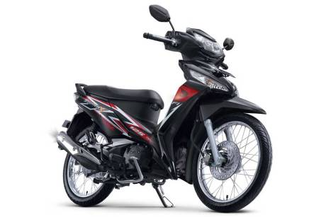 facelift new honda supra X 125 FI Stylish Black SW pertamax7.com 2016