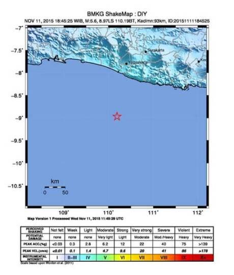 gempa bumi 5,6 SR guncang jogja dan sekitarnya 11 november 2015 pertamax7.com
