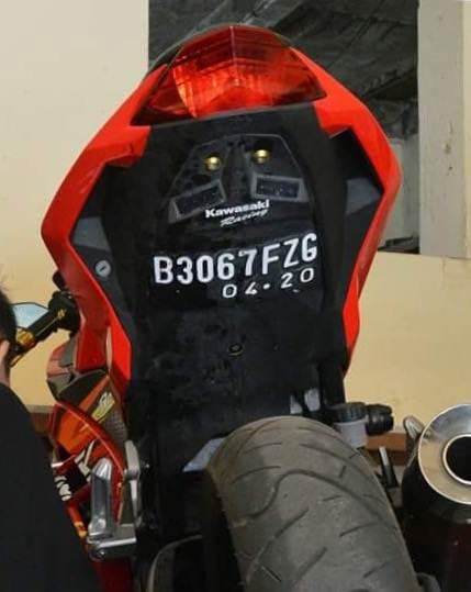 Info Kehilangan Kawasaki Ninja 250FI merah B 3067 FZG01 pertamax7.com