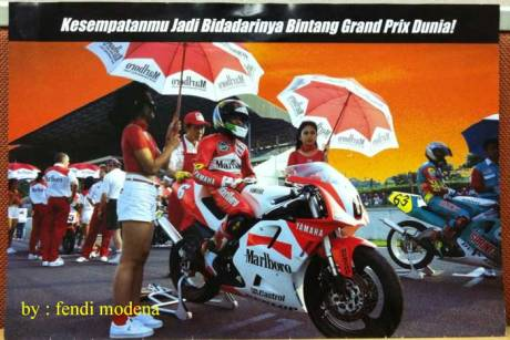 Intip Brosur Lowongan Umbrella Girls & Grid Girls Motogp Indonesia 1997, di 2017 gimana yak pertamax7.com 1