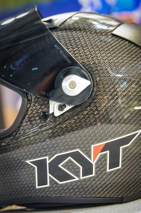 Intip Kerennya Helm KYT TURNDER FLASH Carbon Fiber dan Pakai Titanium, Buatan Italy Lho 08 Pertamax7.com