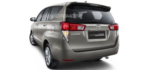 Launching 23 November 2015, ini dia Tampang belakang All New Toyota 2016