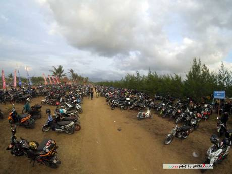 Liputan Honda Bikers day 2015 pecah rekor tembus lebih dari 20 ribu peserta 05 Pertamax7.com