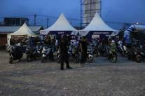 liputan Kemeriahan Jambore Nasional ke-3 Yamaha Riders Federation Indonesia (YRFI) di Pantai Pangandaran (2) pertamax7.com