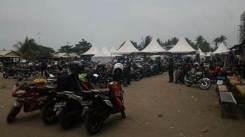 liputan Kemeriahan Jambore Nasional ke-3 Yamaha Riders Federation Indonesia (YRFI) di Pantai Pangandaran (3) pertamax7.com