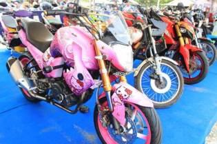 liputan Kontes modifikasi motor di Jambore Nasional Yamaha Riders Federation Indonesia (YRFI) ke-3 di Pantai Pangandaran pertamax7.com