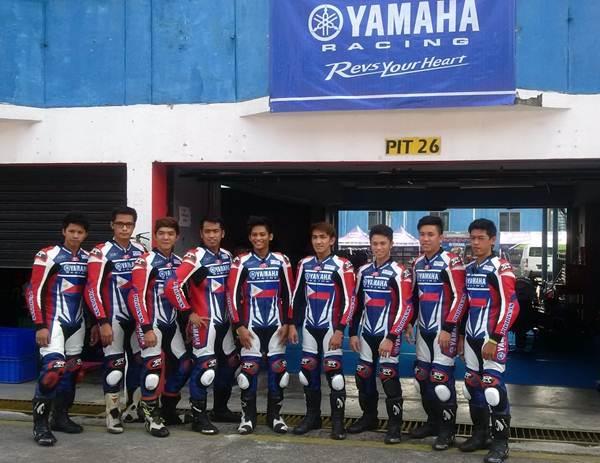 Liputan9 pebalap profesional Filipina balapan di Seri 3 Yamaha Sunday Race di Sentul International Circuit pertamax7.com