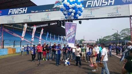LiputanUpacara pembukaan Seri 3 Yamaha Sunday Race di Sentul International Circuit pertamax7.com