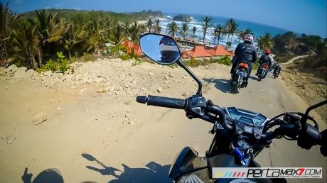 Meriahnya Touring Blogger Honda bikers Day 2015 Susuri Jalan Surakarta Wonogiri Sampai Pacitan 12 Pertamax7.com