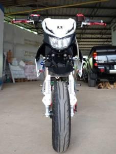 Modifikasi Kawasaki KSR 110 pakai Mesin Honda CBR150R Karbu ini Imut tapi sadis 04 Pertamax7.com