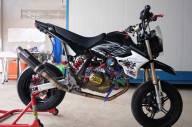 Modifikasi Kawasaki KSR 110 pakai Mesin Honda CBR150R Karbu ini Imut tapi sadis 08 Pertamax7.com