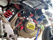 Modifikasi Kawasaki KSR 110 pakai Mesin Honda CBR150R Karbu ini Imut tapi sadis 11 Pertamax7.com