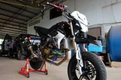Modifikasi Kawasaki KSR 110 pakai Mesin Honda CBR150R Karbu ini Imut tapi sadis 12 Pertamax7.com