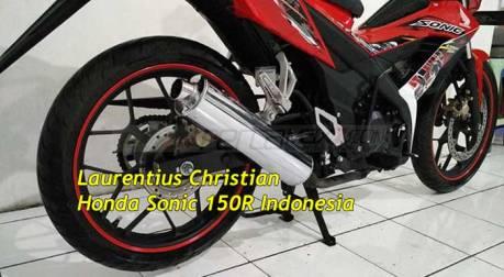 Modifikasi-New-Honda-Sonic-150R-pakai-Knalpot-Suzuki-Satria-F-ini-gimana-om-pertamax7.com-