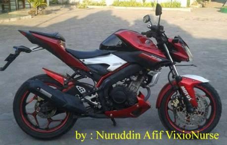 Modifikasi Yamaha Old Vixion jadi ala MT25 asal Purworejo Ini lagi heboh 07 Pertamax7.com