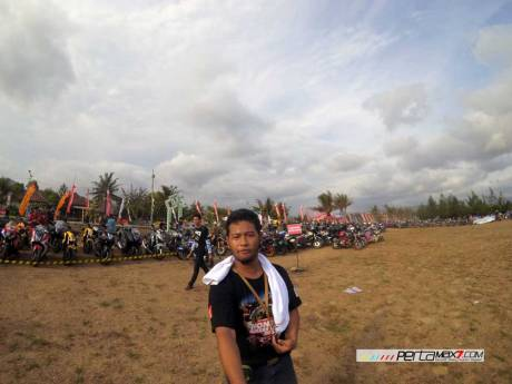 Parkiran Khusus CBR250R dan PCX150 di protes peserta Honda Bikers Day 2015, Nih Jawaban resmi Panitia pertamax7.com