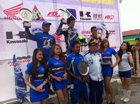 Race 2 IRRC bebek 150 cc, Masih Suzuki Satria F, Jupiter MX 150 kedua New sonic 150R 3 pertamax7.com 1