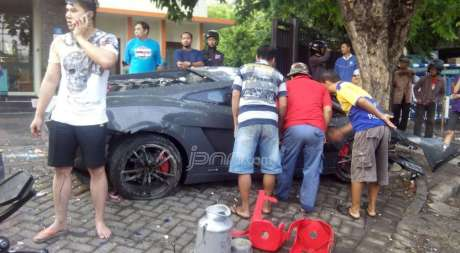Sopir Lamborghini maut langsung telepon usai Tubruk pedangan STMJ, balapan dengan Ferrari, apa kata korban pertamax7.com 1