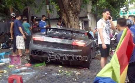 Sopir Lamborghini maut langsung telepon usai Tubruk pedangan STMJ, balapan dengan Ferrari, apa kata korban pertamax7.com