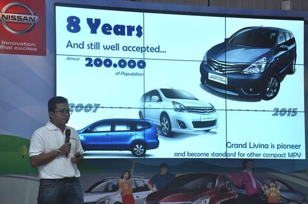 Sudah 200.000 unit Grand Livina di Indonesia, Nissan beri apresiasi 1001 Cerita Keluarga 02 pertamax7.com