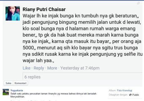 Sudah Bayar Rp.5000, Wajar lah Taman Bunga Amarillys di Pathuk GunungKidul itu Rusak #miris pertamax7.com