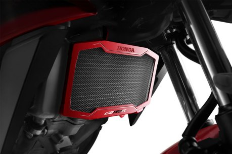 Aksesoris All New Honda CB150R Streetfire Radiator-Cover Pertamax7.com