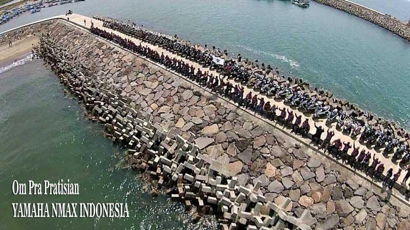 Bandung-Max-Community-Ramaikan-Pantai-Pangandaran-pertamax7.com-