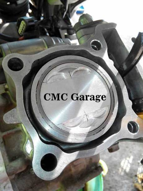 Bored Up Yamaha Vixion Pakai Piston Verza Tembus 157 CC Modal Rp.700 Rebuan Makin Wuzz Wuzz pertamax7.com 2