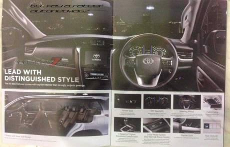 Brosur Toyota All New Fortuner 2016 Bocor Di Internet, Ada 6 Tipe Sudah Bisa Dipesan Booking Fee Rp.10 Juta 04 Pertamax7.com