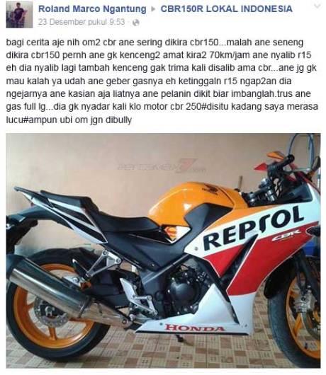 Dikira-Honda-CBR150R-lokal,-Yamaha-R15-Megap-megap-ngejar-Honda-CBR250R-pertamax7.com-